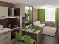 Квартира 25 кв. м.: современные идеи оформления, варианты размещения и советы по выбору стиля