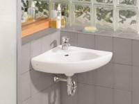 Угловая раковина в ванную: инструкция по выбору и правильной установке (фото + дизайн)