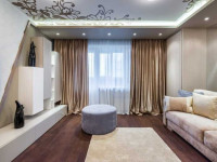 Тюль в гостиную: особенности дизайна и красивого оформления (фото + новинки)