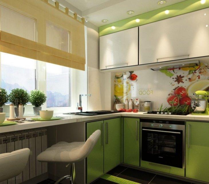 Дизайн кухни 2021 года