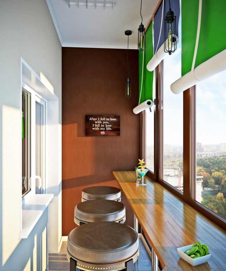 Дизайн балкона 2021 года
