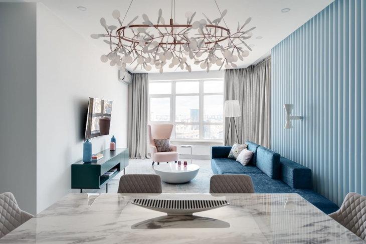 дизайн интерьера квартиры 2019 2020