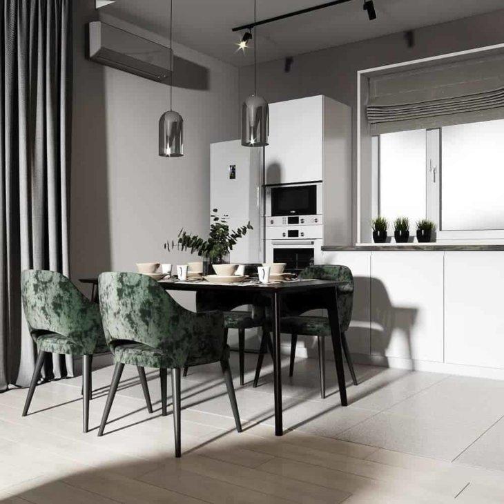дизайн интерьер квартиры 2020