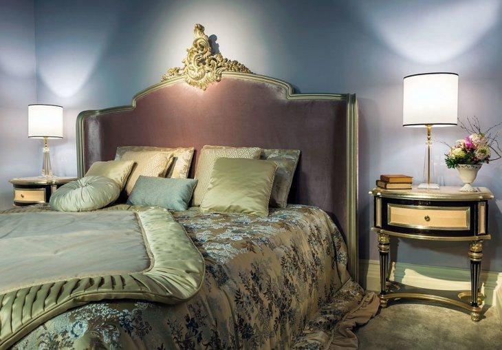 Дизайн длинной спальни