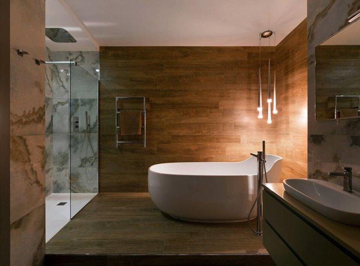 дизайн ванны +в частном доме