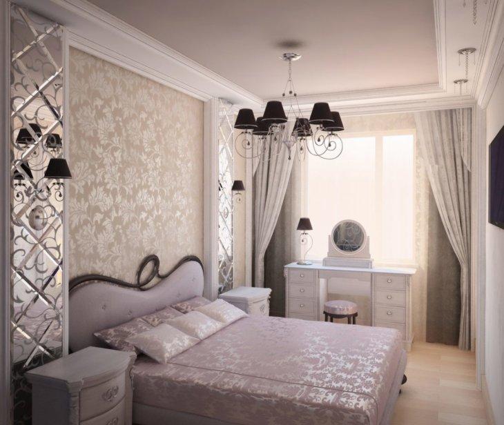 модный дизайн спальни 2020