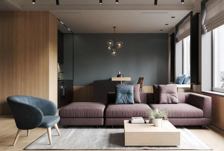 дизайн гостиной 2020