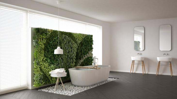 vмодный дизайн ванной 2020