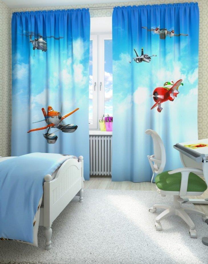 шторы для мальчика